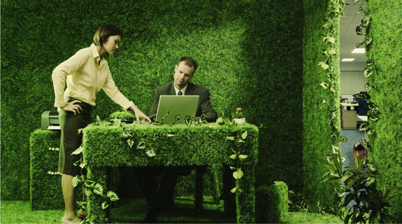 Smart Office Leasing Strategies are Inherently Green