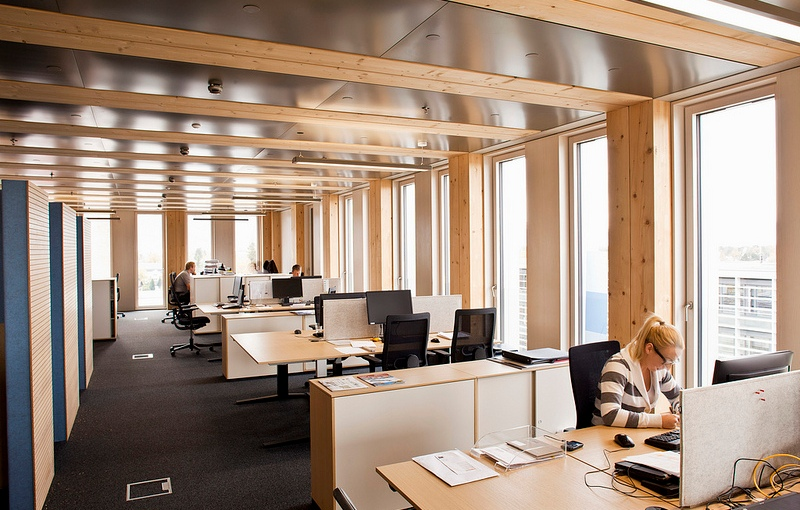 Office Towers Made From … Wood?